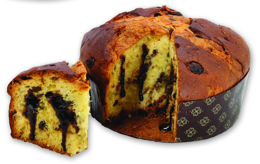Panettone with Balsamic Glaze - K3050 (750 g - 26.46 oz) - 2